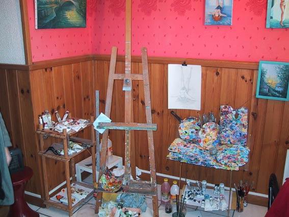 L 39 artiste ses ateliers georges martinez artiste - Petit cabinet de conseil en strategie ...